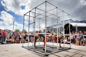Motionhouse, Captive. Dance Village 2013